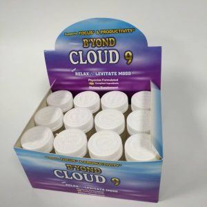 B'yond Cloud 9  Box (12 Bottles)20 24 Capsules Per   Bottle 20% Bonus! (4   Free Capsules)Limited Time Only!